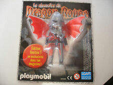 playmobil chevalier du Dragon Rouge moyen age edition speciale limited 2010