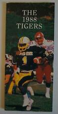 Vintage Football Media Press Guide Towson State University 1988