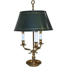 French Empire Style Bouillotte Brass Lamp