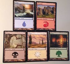 50 MINT BASIC LANDS Choose Colour! Bonus SPECIAL land, Bulk Lot Mana Mtg