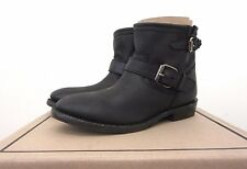 NWB ASH Italia $308 Women's Vegas Black Leather Ankle Boot Size: EU 41 / US 9