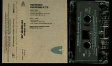 Reverend Live PROMO USA Cassette Tape Metal Church