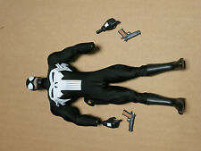 "Medicom Marvel Venom as Punisher Loose 1/6th Scale 12"" Action Figure"
