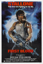 24X36Inch Art FIRST BLOOD Movie Poster Stallone Rambo P33