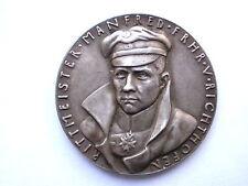 German / Germany Karl Goetz Silver Medal Manfred von Richthofen 1918
