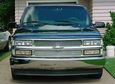 CHROME MESH GRILLE GRILL KIT For CHEVY SUBURBAN 94 95 96 97 98 99