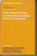 34th Annual Institute on Telecommunications Policy & Regulation Handbook 2016