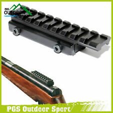 Airsoft Air Gun Rifle Dovetail Rail Extension 11mm to 20mm Weaver Adapter