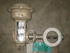 VETEC PNEUMATIC DIAPHRAGM ACTUATED B-FLY VALVE , W/ POSITIONER , (A1)