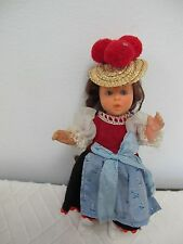 WEST GERMANY VINYL POSEABLE JOINTED DOLL SWEETHEART 7""