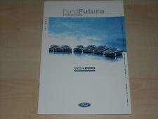 62625) Ford Ka Fiesta Focus Mondeo Cougar Futura Prospekt 02/2000