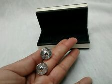 Very nice links of London Sterling 925 round  cufflinks
