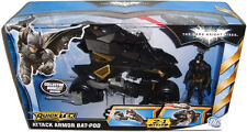 Batman The Dark Knight Rises Attack Armor Bat-Pod Vehicle MIB With Batman Figure