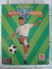 World Trophy Soccer For Commodore Amiga, NEW FACTORY SEALED, Virgin