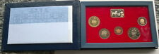 Taiwan China 1995 Mint Box Set of 5 Coins,Proof