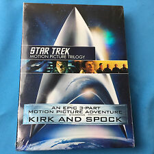 Star Trek: Motion Picture Trilogy DVD Set - New/Sealed ✔Ships Same Day For Free!