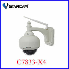 VStarcam C7833 PTZ Outdoor Security IP Camera Wifi HD 720P With 4 X Optical Zoom