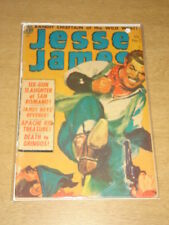 JESSE JAMES #7 G (2.0) AVON COMICS KUBERT MAY 1952