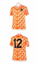 NETHERLANDS NEDERLAND HOLLAND 1988 VAN BASTEN 12 REPLICA FOOTBALL SHIRT XL