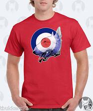 *NEW* Mens English Bull Terrier T-Shirt - Bullseye Ska Mod