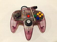 Nintendo 64 N64 Controller - Atomic Clear Purple In Mint Condition!!