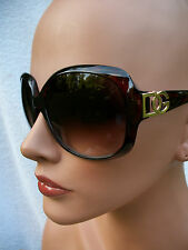 Women's Designer DG Sunglasses DG30102 UV400 Davis A1 sunnies ladies brown