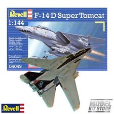 F-14D Super Tomcat - 1/144 Revell Modern Military Aircraft Model Kit #4049 NEW