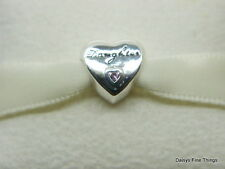 NEW! AUTHENTIC PANDORA CHARM  DAUGHTER'S LOVE #791726PCZ     P