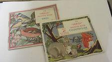 CHILDREN'S VINTAGE coloring books WINSOR & NEWTON C1948