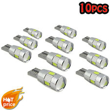 NEW 10pcs T10 501 194 W5W 5630 LED Car 6 SMD HID Canbus Error Free Wedge Light I