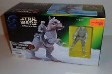 STAR WARS POTF Luke Skywalker & Tauntaun 1997 Kenner 3.75 in figure Mint in Box!