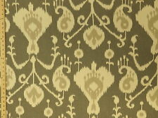 Magnolia Home Fashions Java Gray Cream Taupe Print Upholstery Drapery Fabric