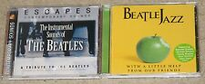 The Beatles-2 Tribute CD Lot-Escapes:Instrumental Sounds.Jazz:with a little help