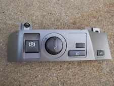 2002-2008 BMW 745i,750i,MAIN SWITCH:LIGHT-PARKING-TRUNK IN DASH(PARTS AVAILABLE)