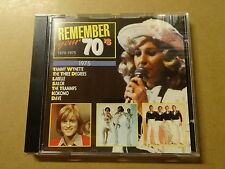 CD / REMEMBER YOUR 70'S 1975 - TAMMY WYNETTE, LABELLE, SAILOR, DAVE,..