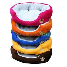 Small Medium Pet Dog Puppy Cat Soft Fleece Nice Cozy Warm Nest Bed Cotton Mat