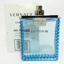 Versace Man Eau Fraiche for Men Eau De Toilette 100ml 3.4 Oz Ts Perfume