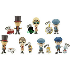 Professor Layton Prop Plus Petit Mini Figure Set of 7 All Types Nintendo TV Game