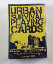 Urban Survival Playing Cards Deck Poker Prepper Emergency - Brand New!