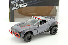Letty 's local MOTORS RALLY Fighter Fast and Furious 8 2017 GRIGIO 1:24 Jada Toys