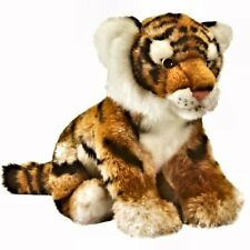 25cm Living Nature Tiger Cub Soft Plush Cuddly Toy - Suitable for all ages (0+)