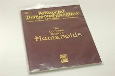 AD&D Complete Humanoids Player's Handbook Rules Supplement Excellent Condition