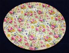 Royal Winton/Grimwades Summertime Chintz 775/4030 Pre-1960 Bread Plate, 6 1/4""