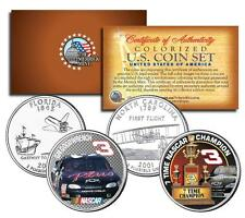 DALE EARNHARDT * 7-Time NASCAR Champ & GM Goodwrench * U.S. Quarters 2-Coin Set