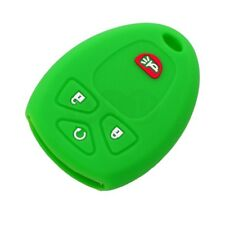 Silicone Cover fit for BUICK Terraza 2005 - 2007 Remote Key Case Fob 4607 LG