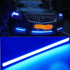 2X 17cm 9W Car Daytime Running LED COB Daylight Kit Super bright Lamp blue light