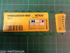 6 x Walter WNMG 080404 - NS5; WTA33; HC-P10; ISO B; NEU & OVP