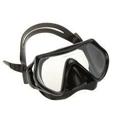 Adult Anti-fog Diving Equipment Adjustable Swimming Goggles Mask Glasses Black