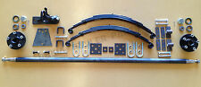 D.I.Y Single Axle Trailer Kit 750 kg rating! with 45x8mm Eye to Eye Springs!