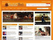 Basketball / NBA Tips Niche Wordpress Blog Website For Sale!